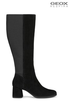 Geox Women's Calinda Black Boots