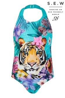 Monsoon S.E.W Tiko Tiger Swimsuit