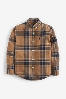 Check Oxford Shirt (3-16yrs)