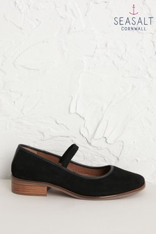 Seasalt Black Rye Grass Shoes