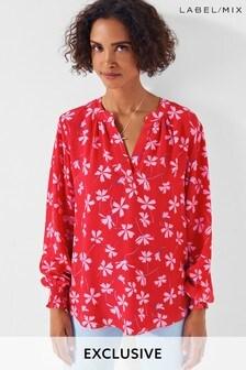 Mix/Primrose Park Floral Print Blouse