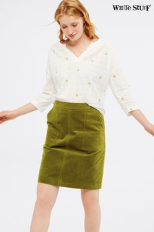 White Stuff Green Skirt