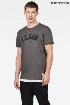 G-Star Grey Graphic 12 T-Shirt
