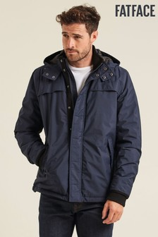 FatFace Blue Barrier Jacket