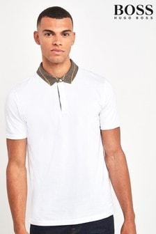 BOSS White Pine Poloshirt