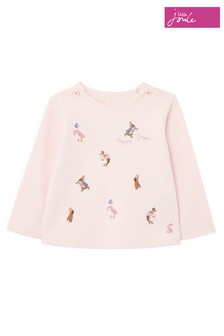 Joules Pink Peter Rabbit Harriet Artwork Top