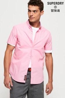 Superdry International Poplin Short Sleeve Shirt