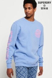 Superdry Pastel Ticket Type Crew Sweatshirt