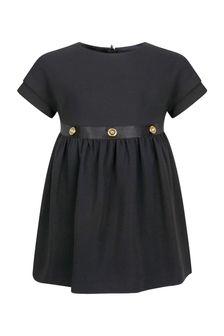 Versace Baby Girls Black Dress