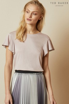 Ted Baker Ayleez Frill Sleeve Detail Top