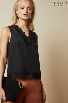 Ted Baker Black Lace Cami