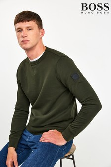 BOSS Green Walkup Crew Neck Sweatshirt