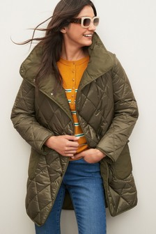 Quilted Patch Pocket Jacket