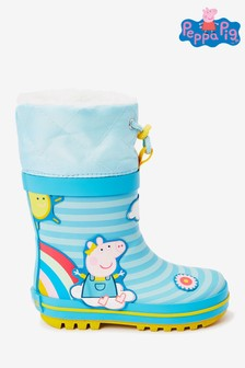 Peppa Pig™ Warm Lined Cuff Wellies (Younger)