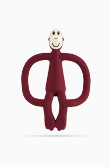 Matchstick Monkey Teething Toy - Claret