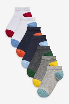 7 Pack Cotton Rich Trainer Socks