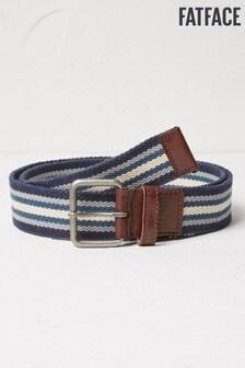 FatFace Blue Webbing Belt