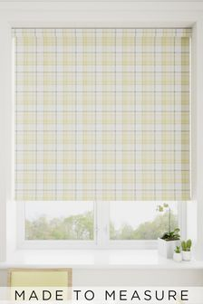 Cosy Check Made To Measure Roller Blind
