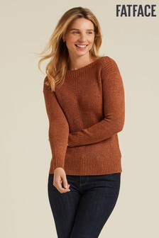 FatFace Brown Hayley Jumper