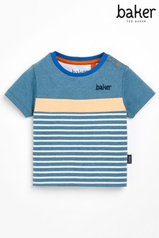 Baker by Ted Baker Baby Boys Stripe T-Shirt