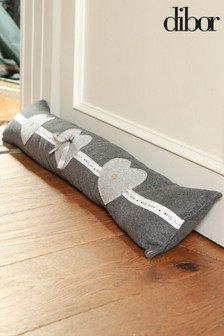 Made With Love Fabric Draught Excluder by Dibor