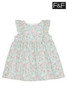 F&F Pink Ditsy Dress