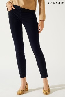 Jigsaw Black Richmond Velvet Jean