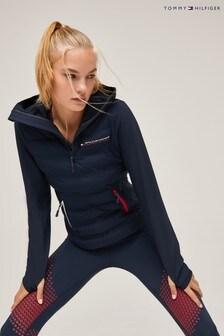 Tommy Hilfiger Sport Mixed Media Hybrid Jacket