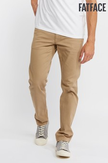 FatFace Natural Ashton 5 Pocket Trouser