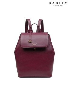 Radley London Merlot Sandler Street Medium Flapover Backpack