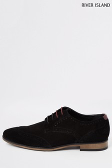 River Island Roger Suede Brogues
