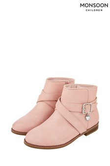 Monsoon Sadie Pretty Charm Buckle Boots