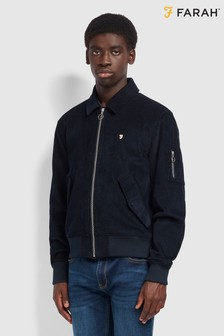 Farah Blue Suggs Bomber Jacket