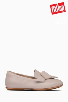 FitFlop™ Mink Lena Knot Loafers