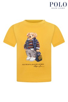 Ralph Lauren Yellow Bear T-Shirt
