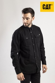 CAT® Black Button Up Shirt