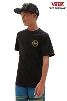 Vans Boys Black Authentic T-Shirt