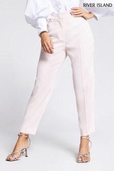 River Island Pink Cigarette Trousers