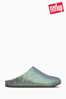 FitFlop™ Blue Chrissie Sequin Slippers