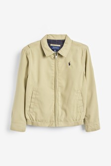 Ralph Lauren Khaki Logo Jacket