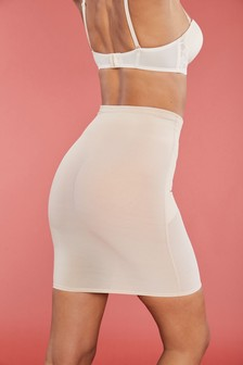 Firm Control Half Slip With Integrated Thong