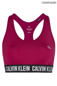 Calvin Klein Purple Medium Support Sports Bra