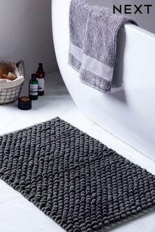 שטיחון אמבטיה ענק במרקם לולאות