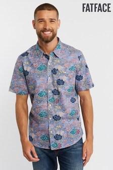 FatFace Purple Blossom Print Shirt