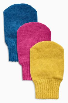 Mitts Three Pack (Younger)