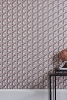 Paste The Wall Optical Geo Wallpaper