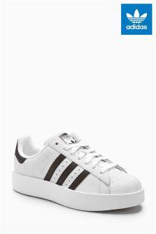 adidas Originals White/Black Superstar Bold