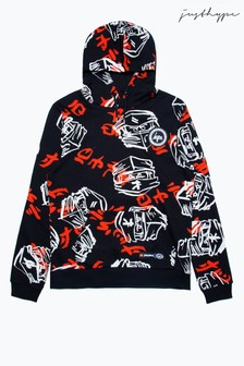 Hype. Black LEGO® Ninjago Faces Men's Pullover Hoody