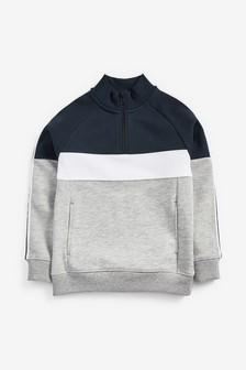 Zip Neck Sweater (3-16yrs)