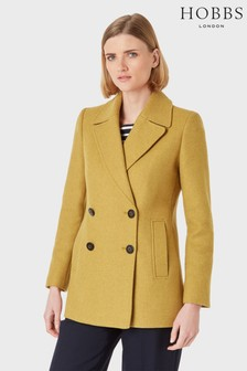 Hobbs Yellow Fran Coat
